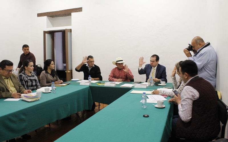 Salvador Arvizu invitó a sus compañeros integrantes de la Comisión a mantener estrecha comunicación y coadyuvar en el desarrollo de la Comunicación y del Transporte