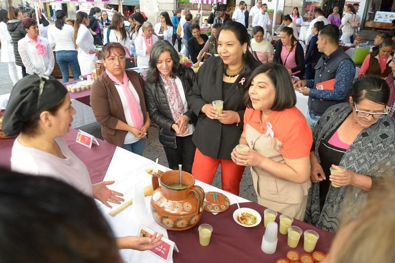 Se promueven acciones para mantener una sana alimentación de los morelianos
