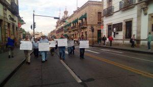 En la manifestación participaron alrededor de 70 personas