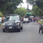 A su paso los manifestantes provocaron conflictos viales en algunas zonas de la capital michoacana