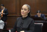 La legisladora de extracción perredista señaló que el documento formalmente no se encuentra aún en las manos de los integrantes de la Comisión Inspectora