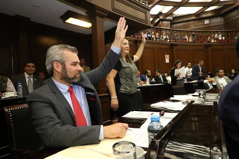 La referida comisión es presidida por el diputado de Morena Alfredo Ramírez Bedolla