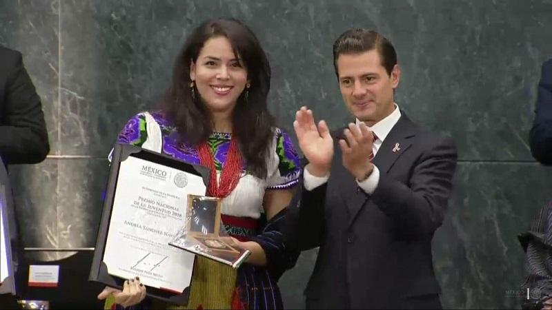 Fue el Presidente de la República, Enrique Peña Nieto quien otorgó personalmente estos reconocimientos