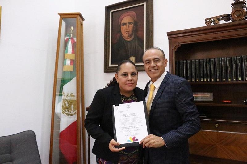 Velasco Martínez se ha desempeñado como directora del Centro Penitenciario del municipio de Zamora durante el periodo 2008-2012, así como del Centro Penitenciario de Tacámbaro desde el año 2016 hasta la fecha de su nuevo encargo