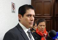 Núñez Aguilar se dijo consciente del próximo relevo en la Rectoría de la UMSNH y adelantó que en su momento los diputados locales tendrán que sentarse con el nuevo rector para tratar todos esos temas (FOTO: NICOLÁS CASIMIRO)