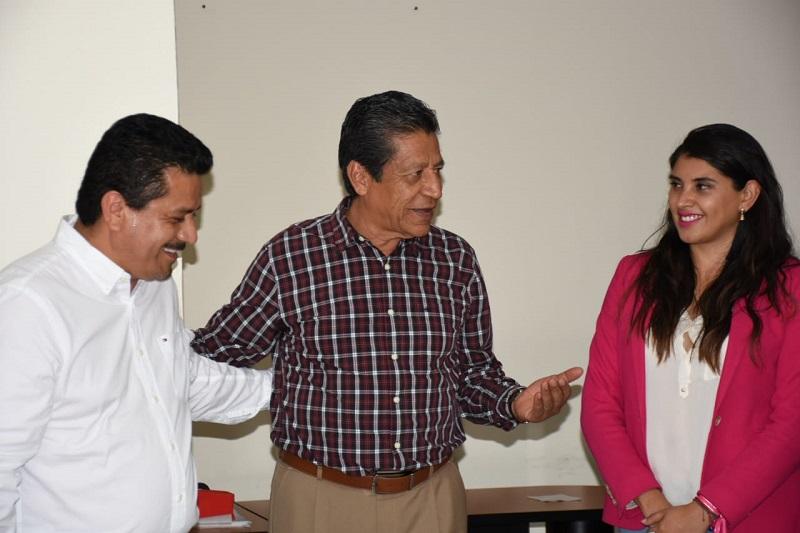 Guzmán Castañeda precisó que previo al nombramiento del nuevo delegado general para Morelia sostuvo una armoniosa charla con Marisol Aguilar quién siempre se mostró muy receptiva y en buen ánimo ante el tema