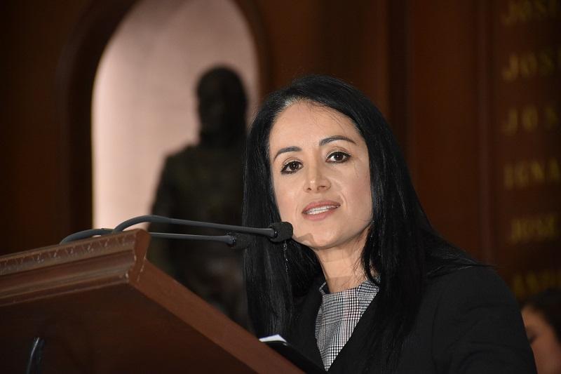 Lucila Martínez ofreció como legisladora y presidenta de la Comisión de Igualdad de Género, trabajar a favor de las mujeres michoacanas