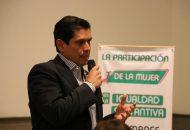 """Para el dirigente estatal del PVEM en Michoacán, Ernesto Núñez, """"es de vital importancia dado el contexto social, político y económico actual, mismo que sigue exigiendo justicia social basada en una cultura de igualdad de espacios, condiciones y oportunidades"""""""