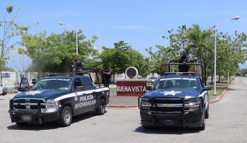 Han sido instalados puestos de control en el puente de acceso a Buenavista, así como en las salidas de la localidad de La Ruana y al municipio de Los Reyes