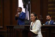 La diputada local presentó un escrito ante la Mesa Directiva del Congreso del Estado, en donde solicita establecer mesas de trabajo para análisis de la propuesta
