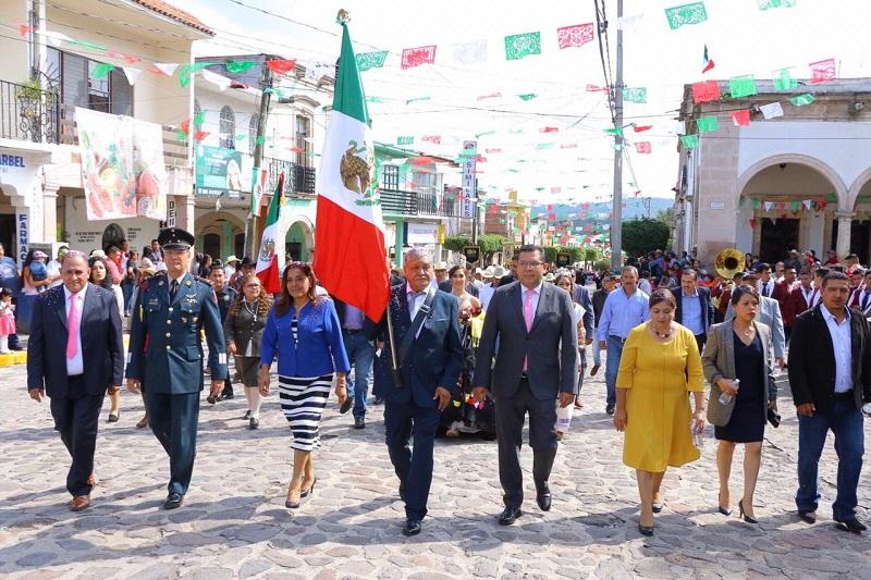 Mantener vivos los ideales de justicia y lucha social del Generalísimo Morelos, es uno de los objetivos de este evento