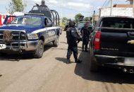 Los elementos de la Policía Michoacán se encuentran desplegados en zonas consideradas como vulnerables, esto para terminar con los remanentes de la delincuencia