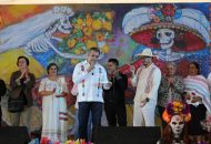 """Morón Orozco aseguró que """"no se quitará el dedo del renglón"""" para que dicha comunidad sea uno de los pueblos mágicos de éste estado"""