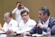 El secretario de Gobierno, Pascual Sigala, informó que hasta el momento no se tiene registro de pérdidas humanas, además de que conminó a las dependencias estatales y municipales a trabajar de manera coordinada para solicitar la Declaratoria de Desastre