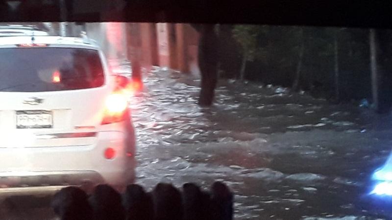 Encharcamientos e inundaciones por lluvias en Morelia