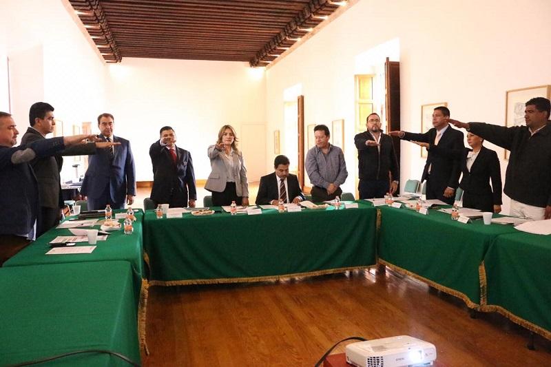 Son cuatro las comisiones que se aprobaron el pasado 20 de junio del año en curso, durante la Primera Sesión Ordinaria del Consejo Estatal de Seguridad Pública