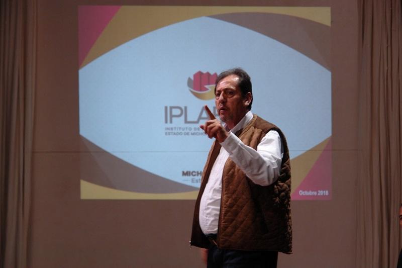 Así lo puso de manifiesto el titular del IPLAEM, Luciano Grobet Vallarta, al participar en una reunión de trabajo organizada por la Fundación Ciudadana para el Desarrollo Integral de Michoacán