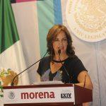 """""""Con esta iniciativa eliminaremos formas de violencia contra la mujer como la esterilización forzada, el aborto forzado, el embarazo forzado, la continuación forzada del embarazo y la criminalización del aborto"""", aludió la diputada Lorena Villavicencio"""