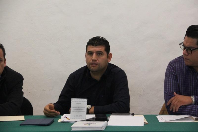 El diputado local por el Distrito de Huetamo, Octavio Ocampo mencionó que existen coincidencias de instituir la creación de la Biblioteca Virtual del Congreso del Estado y establecerlo desde la Ley