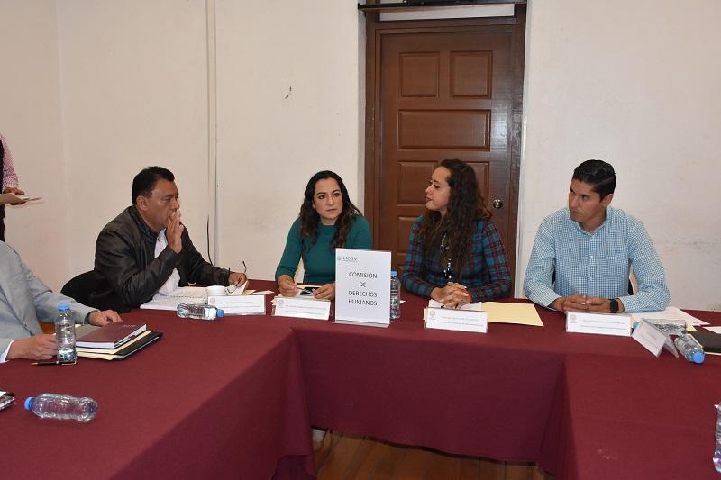 La presidenta de la Comisión, expuso que se vive la peor crisis que en materia de derechos humanos se tenga memoria en el México moderno