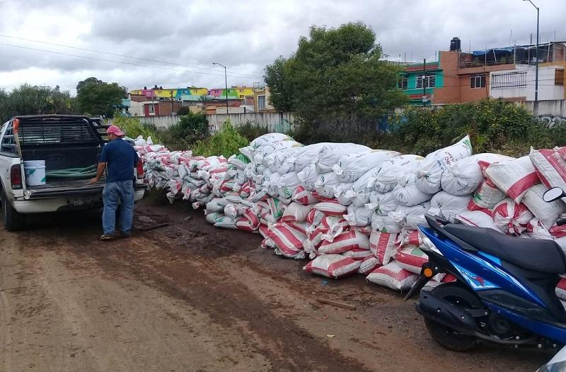 Los constructores organizados se encuentran colaborando con el Ayuntamiento de Morelia para dar atención a las 24 colonias que resultaron afectadas desde el pasado lunes