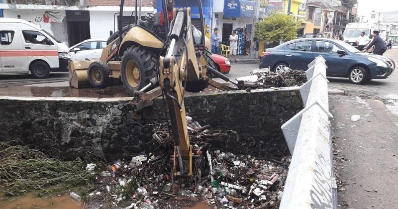 Recoge Ayuntamiento 80 toneladas de desechos en colonias afectadas por lluvia; van mil 321 damnificados