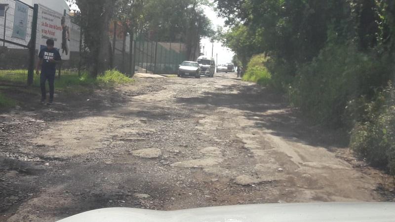 Raúl Morón se comprometió que será a finales del mes de diciembre cuando los automovilistas morelianos no verán un solo bache, no solamente en las calles principales de la ciudad, sino en las calles de las colonias