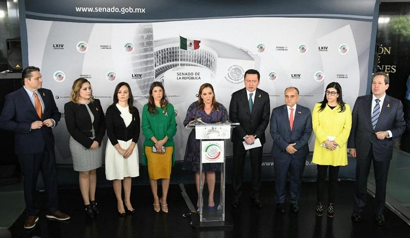 A la iniciativa se sumaron los grupos parlamentos del PAN, Verde Ecologista y el PRD
