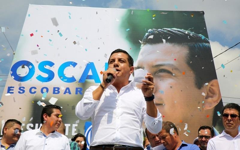 Quiero ser presidente del PAN Michoacán para conquistar más triunfos electorales: Óscar Escobar