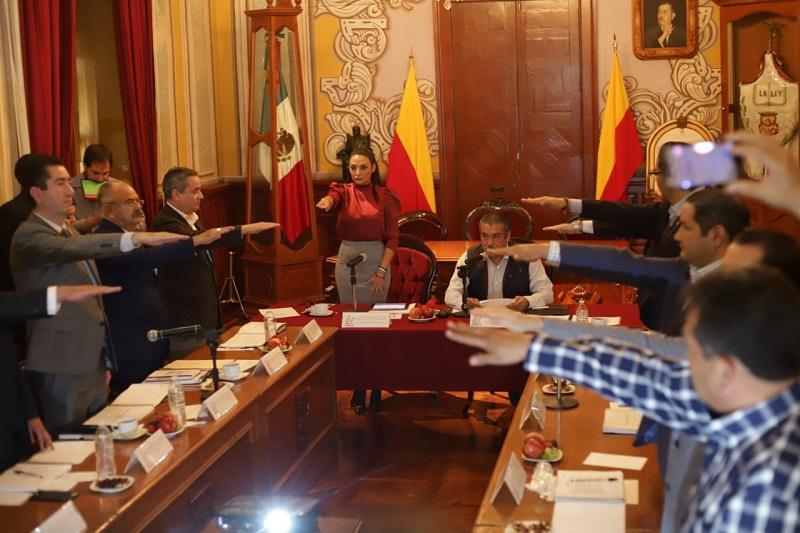 Morón Orozco recalcó que lo que se pretende es regular el funcionamiento de esta institución, así como de todas las dependencias municipales del Ayuntamiento de Morelia y darles un puntual seguimiento