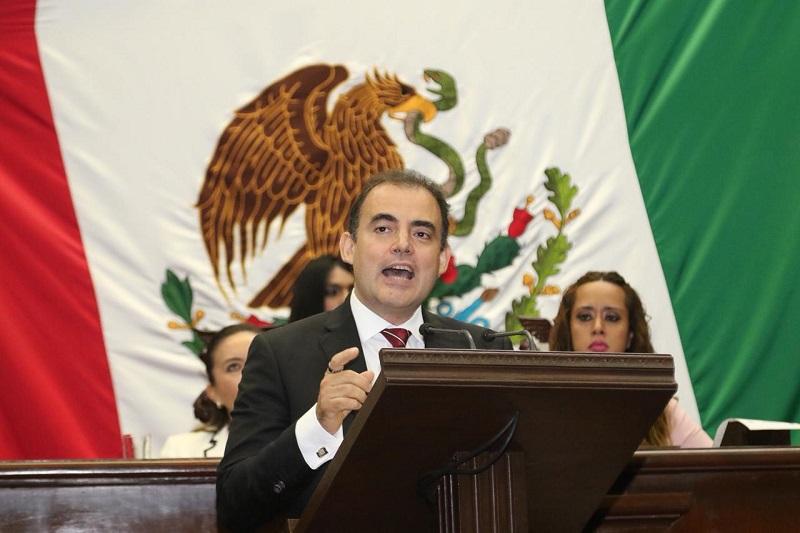 Gaona García propondrá un exhorto para que el titular de la SSP presente un informe mensual al Congreso del Estado