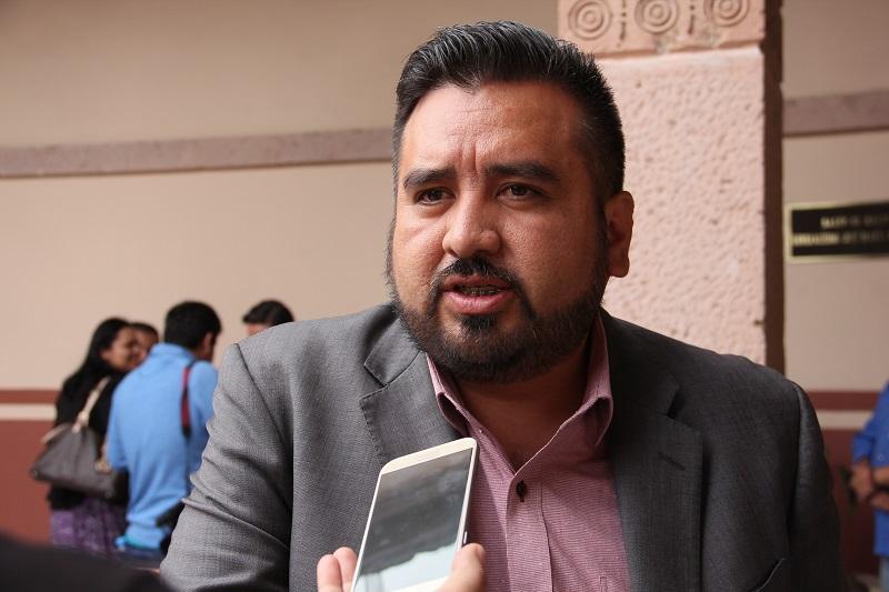 El diputado de extracción perredista informó que presentará en la próxima sesión de Pleno Legislativo la iniciativa que propone diferentes reformas a la Constitución local