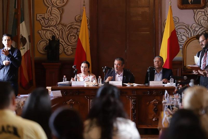 Morón Orozco se pronunció porque la Tesorería municipal sea la aliada para ordenar el gasto corriente en beneficio de la ciudadanía y que dé certeza