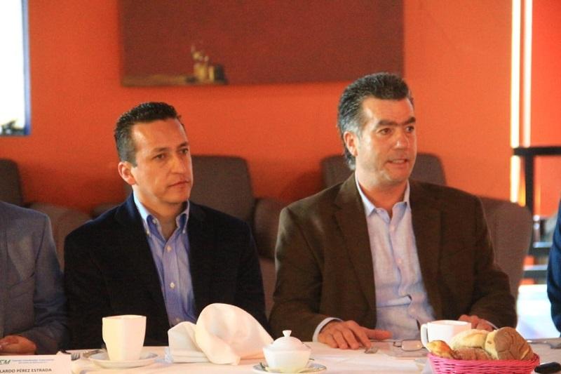 Los representantes del gremio empresarial señalaron como una necesidad imperante la consolidación de la Zona Económica Especial Lázaro Cárdenas - La Unión