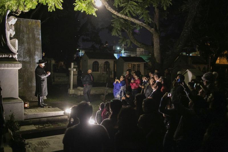 El jefe de Panteones municipales, Héctor Sánchez Ramírez afirmó que estas visitas guiadas serán con entrada gratuita y para grupos no mayores de 60 personas