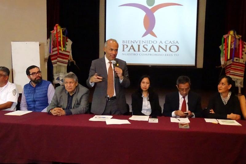 En conferencia de prensa, el titular de la Semigrante, José Luis Gutiérrez Pérez, destacó el trabajo colaborativo que, por instrucción del Gobernador del Estado, Silvano Aureoles Conejo, se ha mantenido con los tres niveles de gobierno