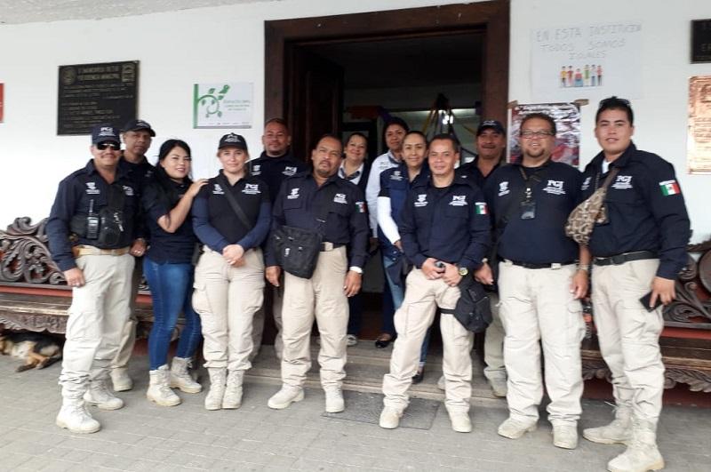 La PGJE mantiene acciones coordinadas entre instituciones para garantizar la seguridad y bienestar de los ciudadanos