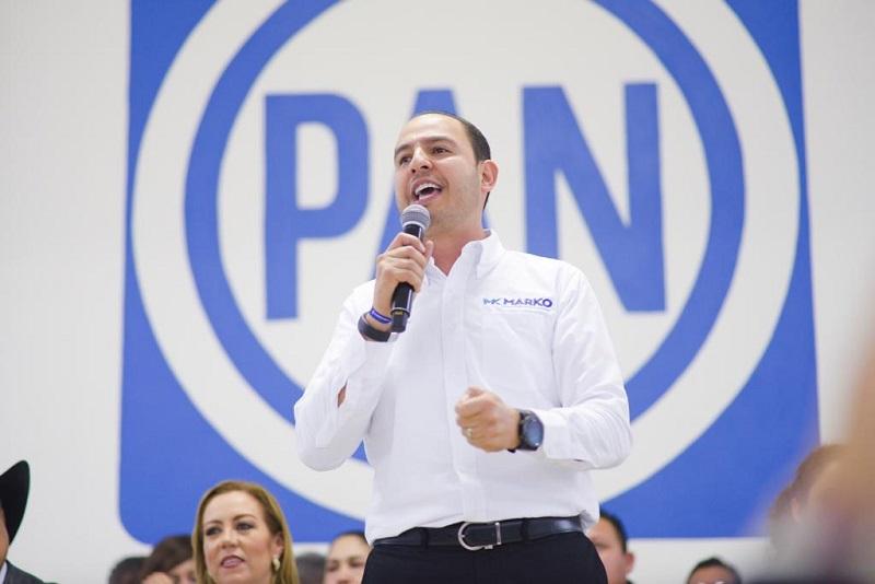 Guanajuato es ejemplo de buenos gobiernos del PAN: Marko Cortés