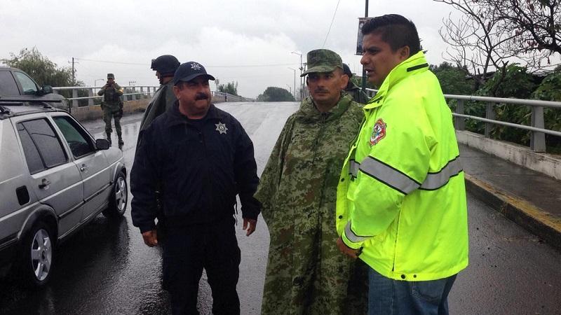 Hasta la tarde de este domingo no se registran accidentes automovilísticos a causa del pavimento mojado en la ciudad, detalló Suárez Bucio