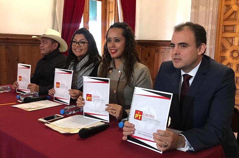 Los integrantes del GPPT presentaron su Agenda Legislativa que se integra en tres grandes ejes