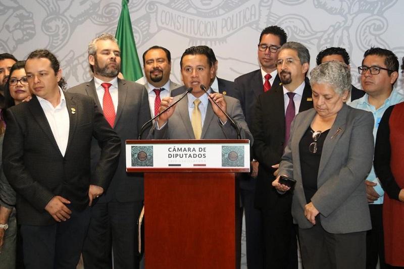 No estamos pidiendo más que un trato digno; hoy la Michoacana necesita recursos para pagar los salarios hasta concluir este año: Torres Piña