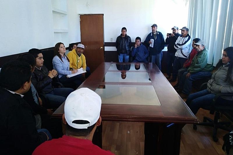 Visitadores de la CEDH se reunieron con integrantes del Concejo
