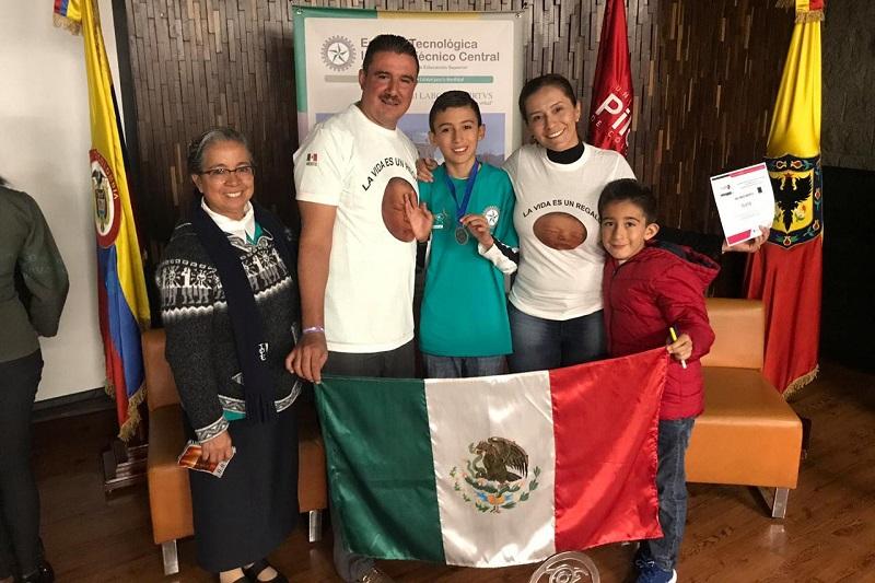 El director general del ICTI, José Luis Montañez, recordó que apenas en octubre pasado, las y los jóvenes talentos se presentaron ante medios de comunicación para dar a conocer su triunfo en la fase nacional y su pase a la internacional en Bogotá