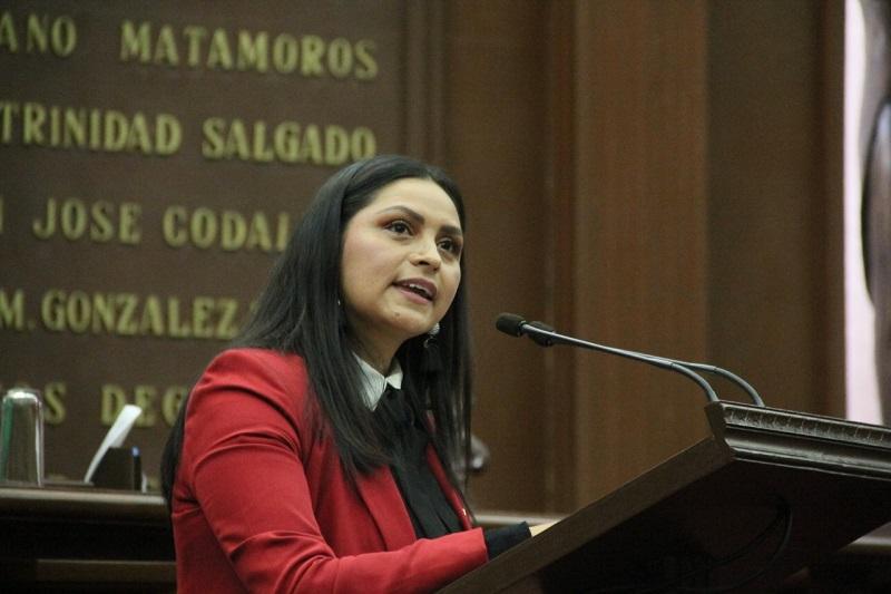 El pleno de la 74 Legislatura aprobó el punto de acuerdo parlamentario presentado por la diputada del PRD, Araceli Saucedo