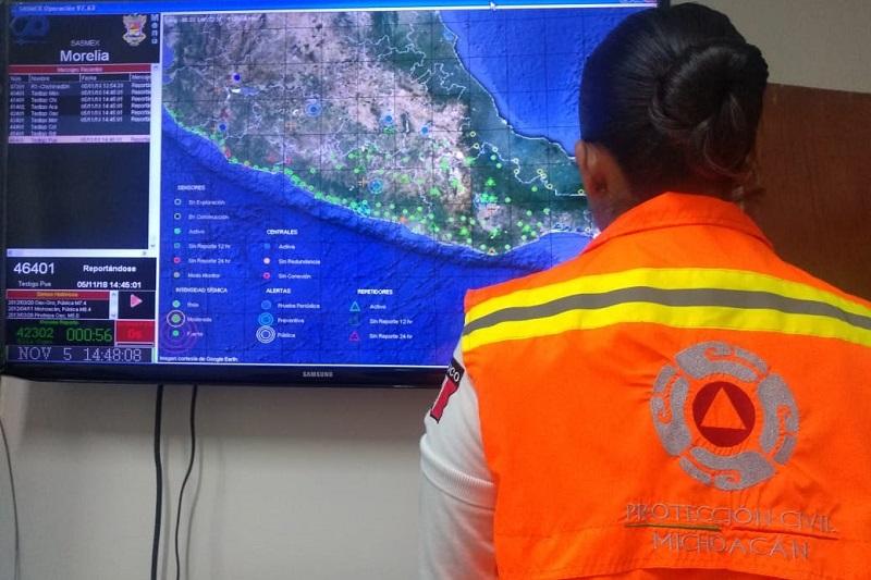Para tal efecto, se instaló en esta ciudad y puerto de Lázaro Cárdenas un centro de operaciones con la participación de instituciones de seguridad y protección civil de los tres órdenes de gobierno