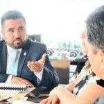 Establecen ruta de trabajo en la Comisión de Migración del Congreso del Estado
