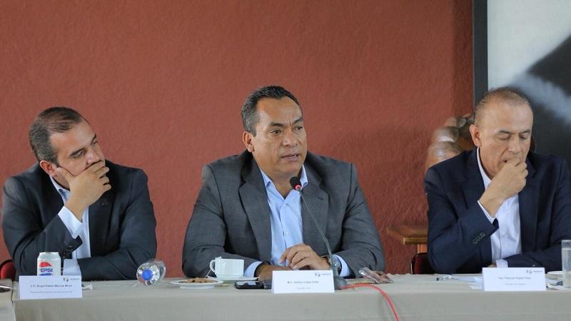 Diputados del PRD, aliados de los alcaldes: López Solís