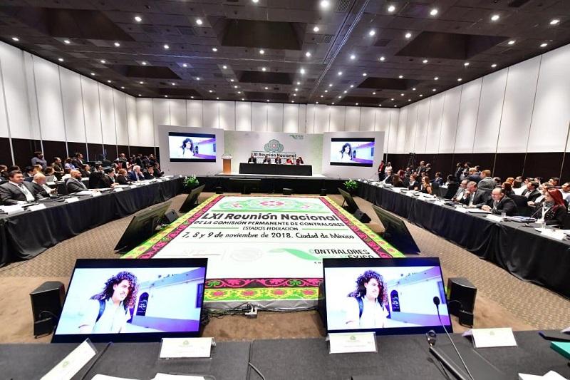 Participó la Secoem en la LXI Reunión Nacional de la Comisión Permanente de Contralores