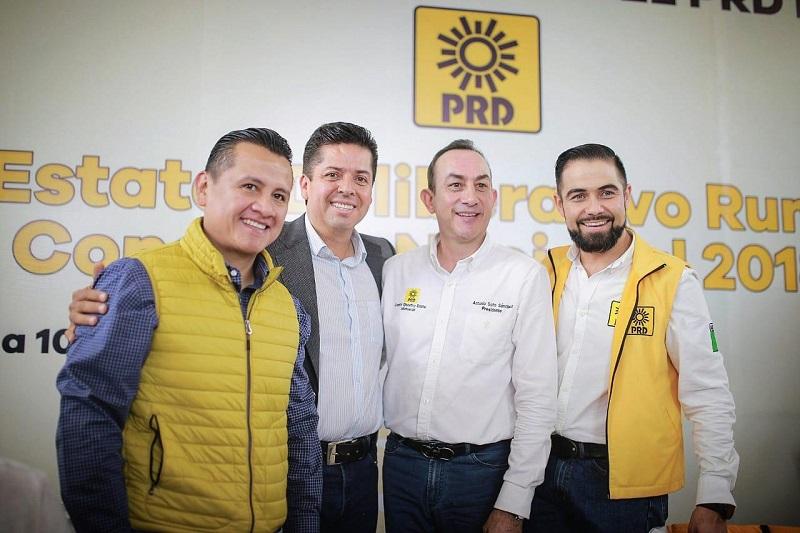 Ya las expresiones llegaron a su final; necesitamos un partido unido; vamos a renacer en esa cuestión, vamos para adelante, vamos a seguir luchando por las libertades e igualdades: García Conejo