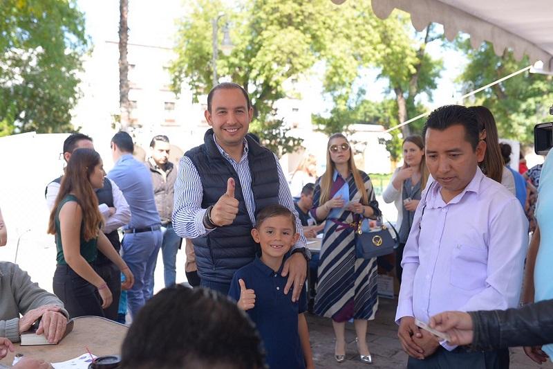 Invitará Marko Cortés a los integrantes de la otra planilla a incorporarse en las tareas del partido